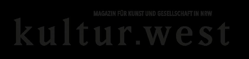 Das Logo von kultur.west