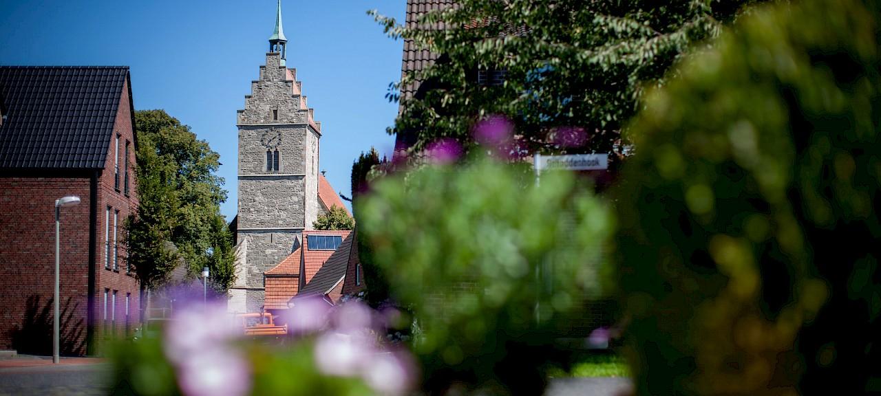 Die Kirche im Ortsteil Ahaus-Wessum
