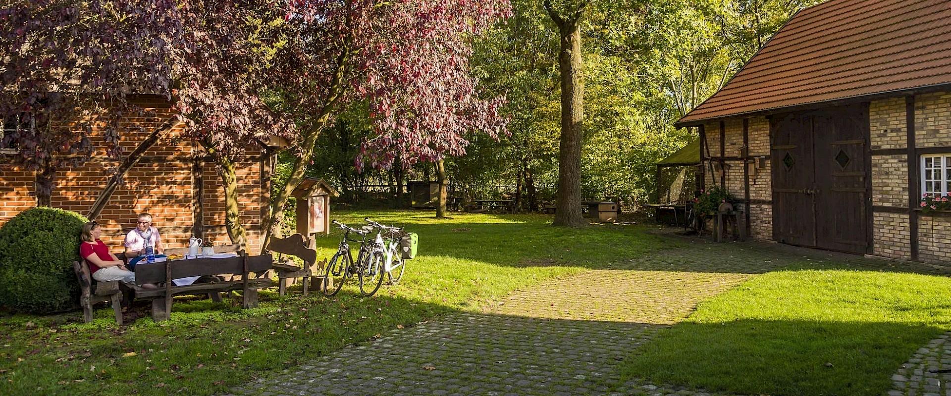 Entspannen in schönster Natur im Münsterland.