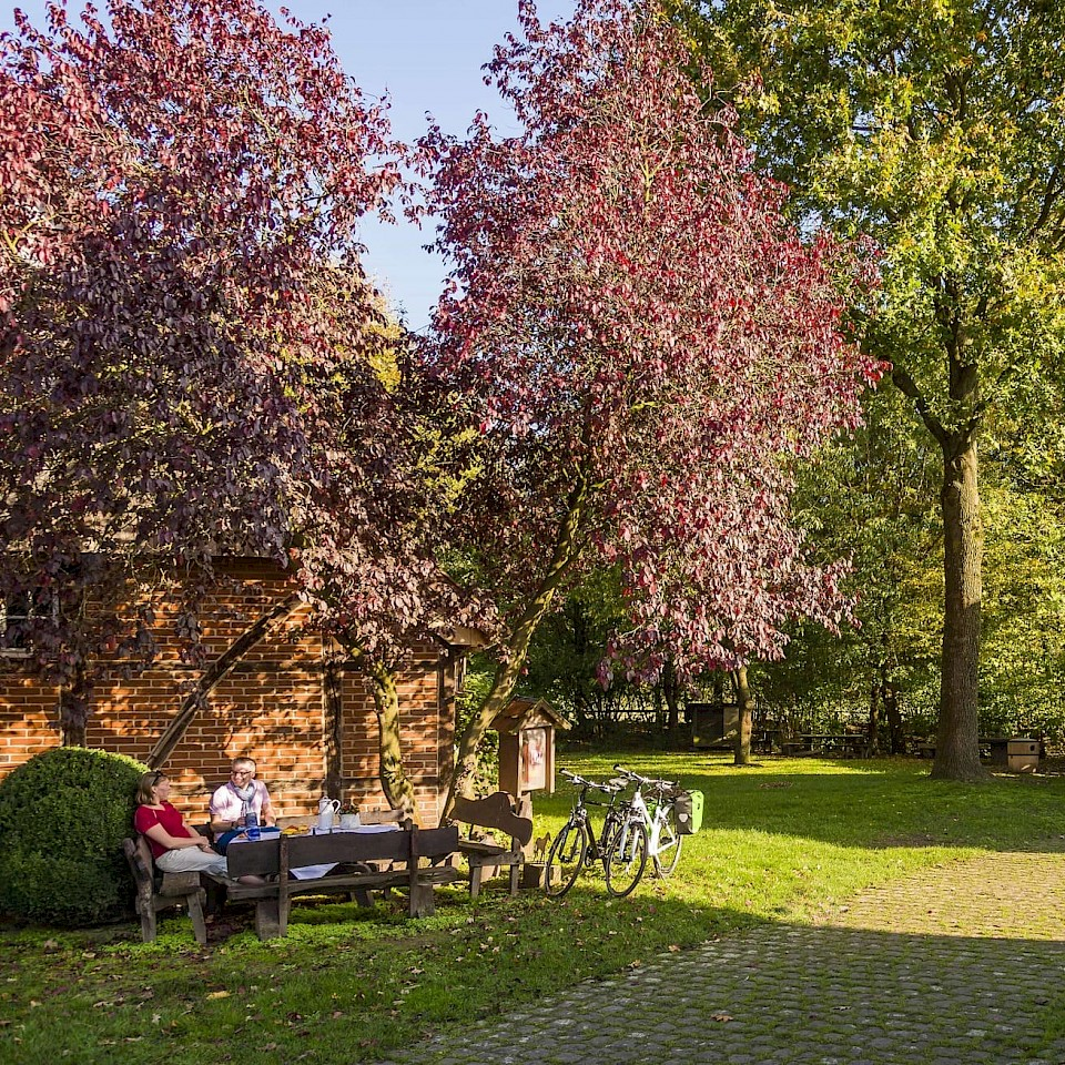 Relax in the most beautiful nature in Münsterland.