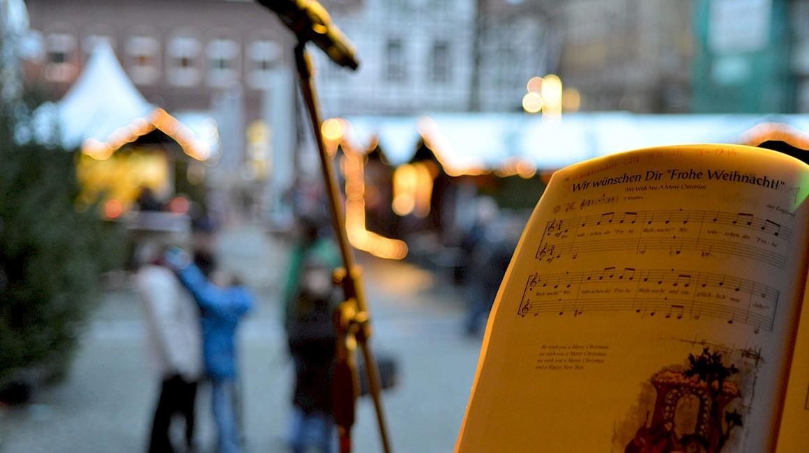 Weihnachtsmarkt in Werne, Bühnenprogramm