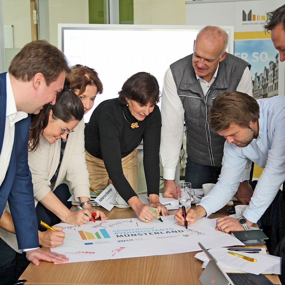 Das Projekt Gründergeist #Youngstarts Münsterland