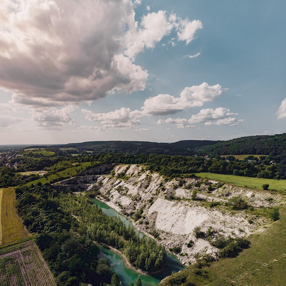 Blick auf den Canyon in Lengerich im Münsterland