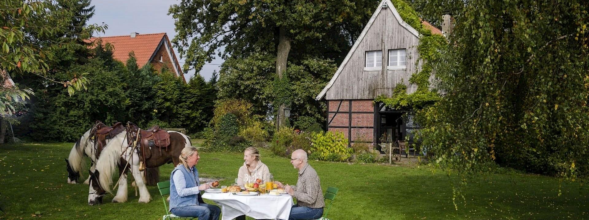 Das Landleben in vollen Zügen genießen Urlaub auf dem Bauernhof