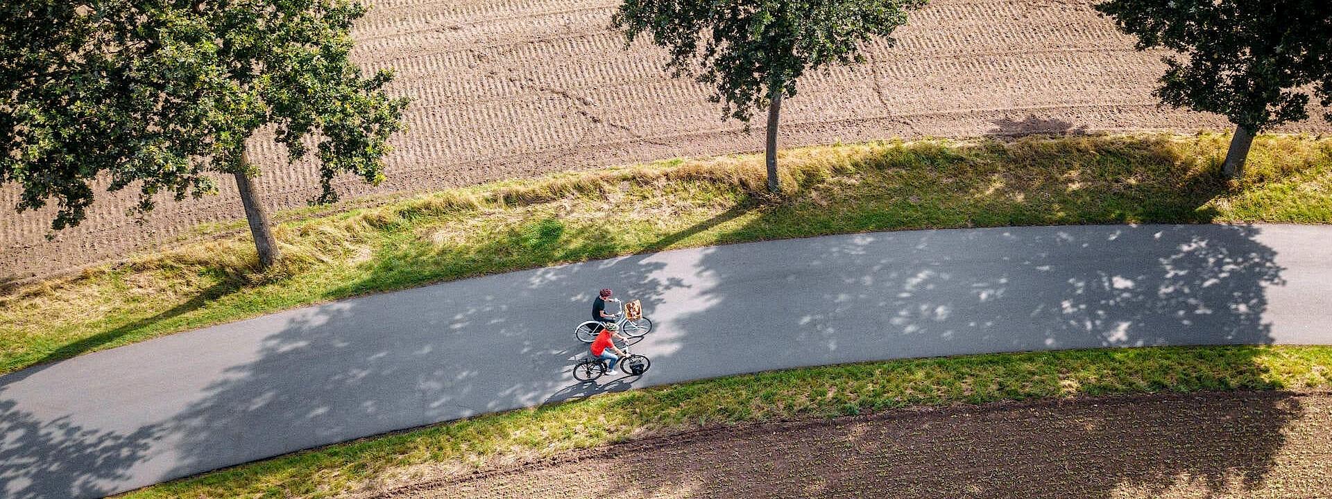 Auf den schönsten Wegen unterwegs Radtouren im Münsterland
