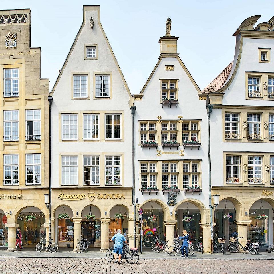 De Prinzipalmarkt in Münster