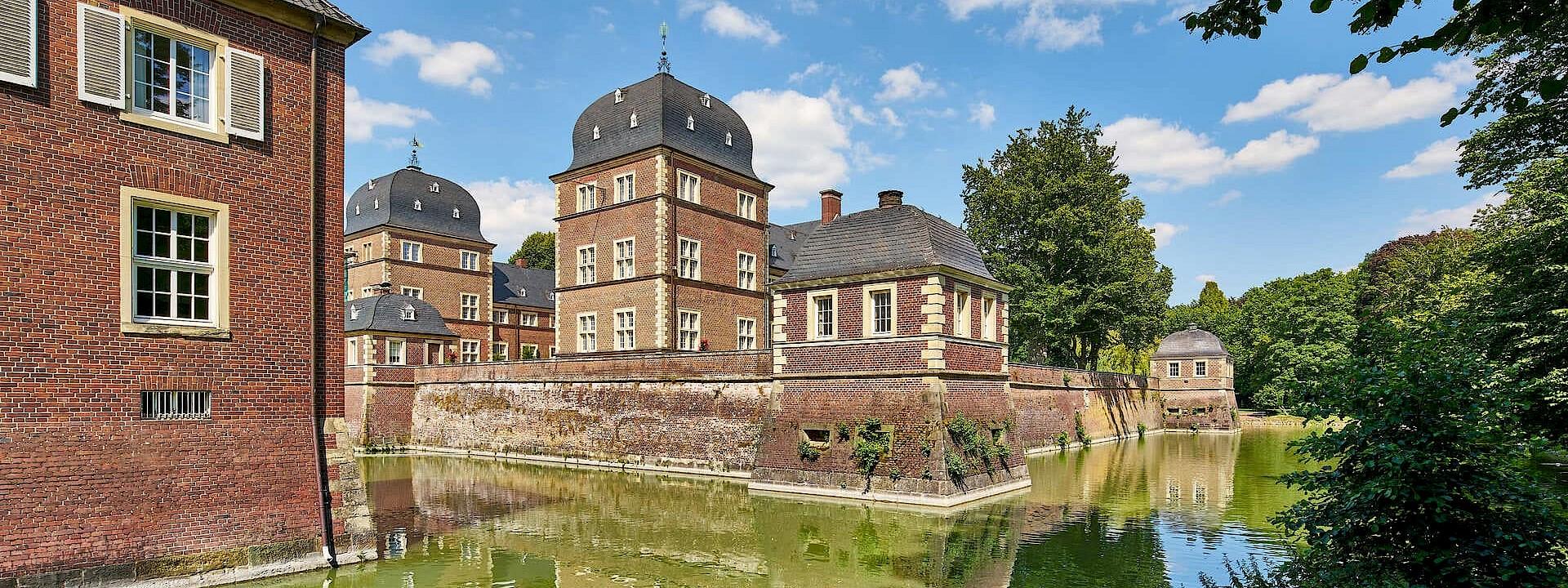 Wahrzeichen im Herzen der Stadt Schloss Ahaus