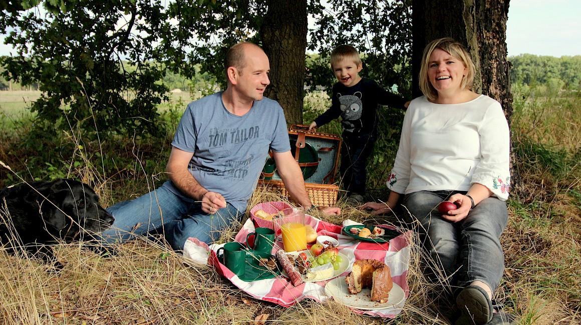 Platz 3: Ein Picknick vor der eigenen Haustür in Ostbevern.