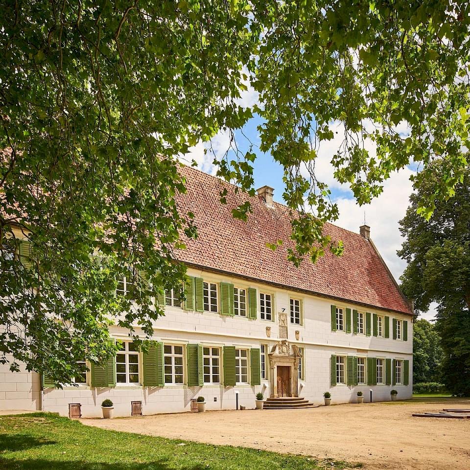 Ingang van het Bentlage klooster