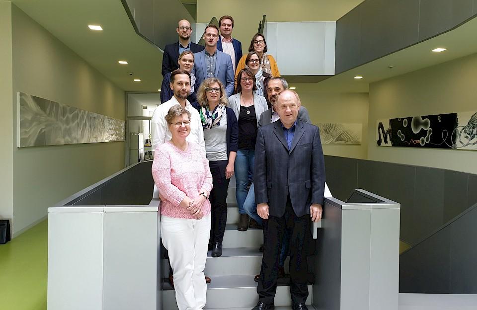 Das Projektteam von Enabling Networks Münsterland