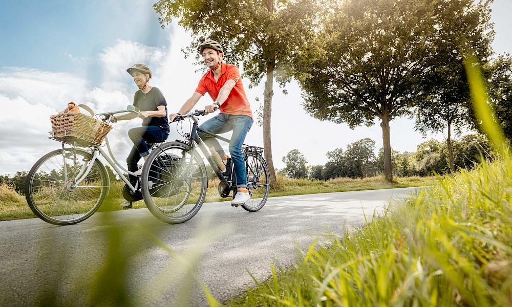 Een dagtocht met de fiets in het Münsterland