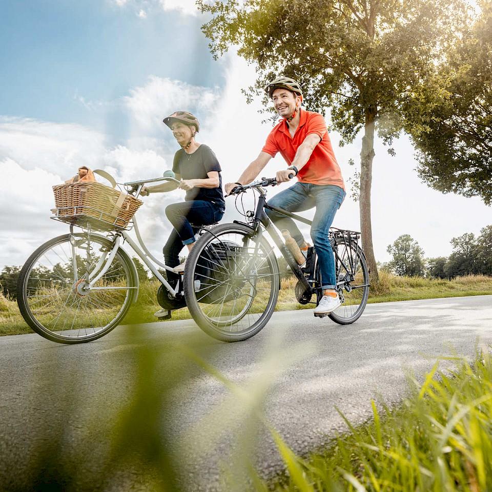 Mit dem Fahrrad auf Tagestour im Münsterland