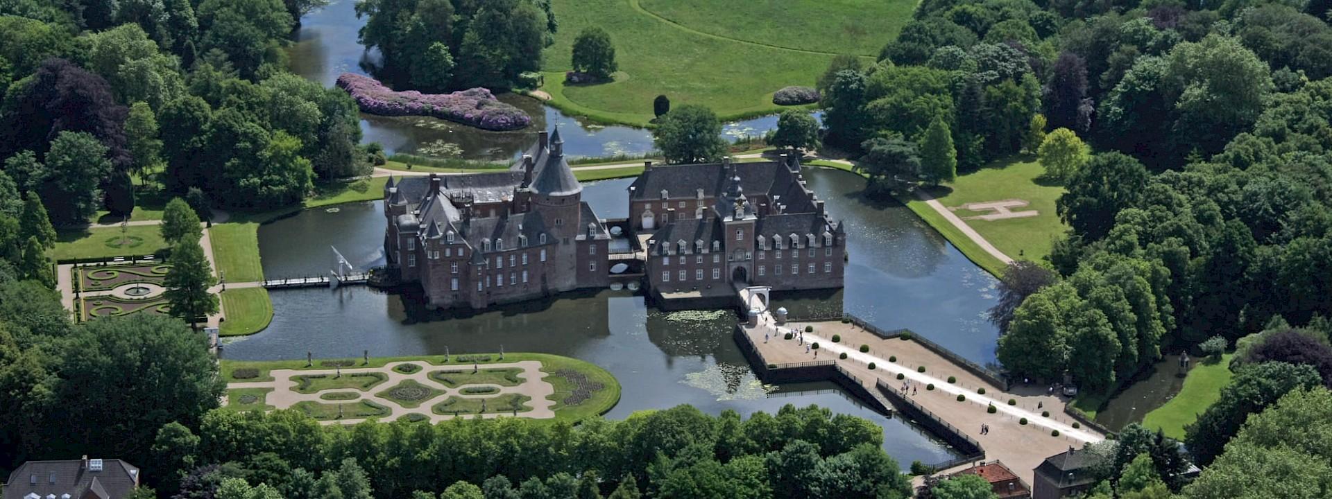 Romantik von ihrer schönsten Seite Wasserburg Anholt