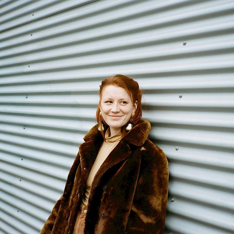 Charlotte Krafft, Regionsschreiberin Münsterland 2020<br>© William Minke/Korbinian Verlag