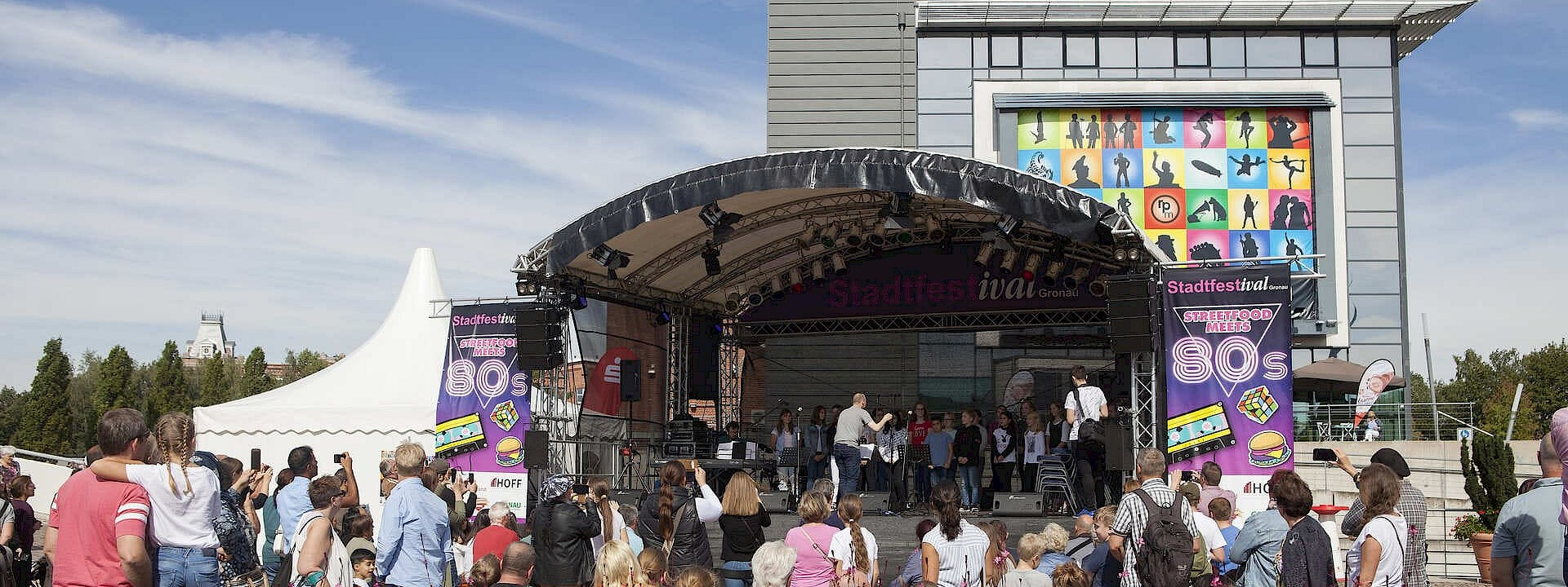 Große Bühne für die ganze Familie Stadtfestival Gronau