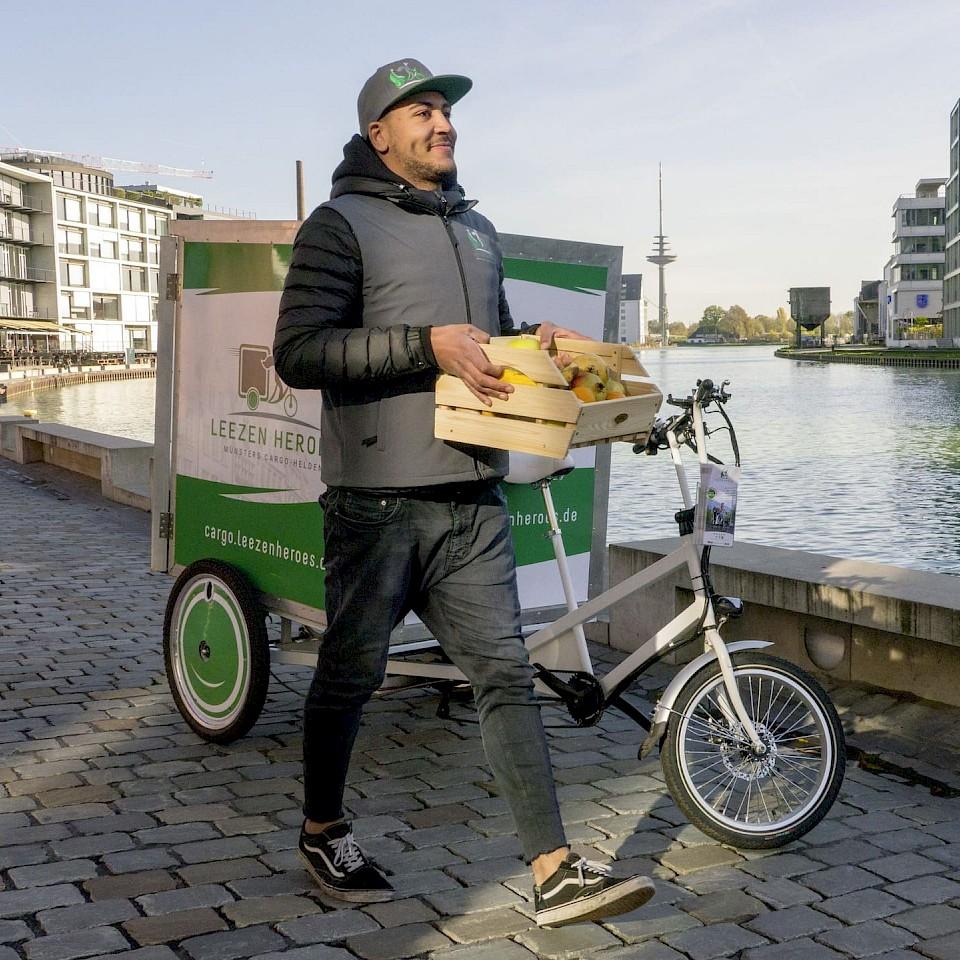Auslieferung mit Leezen Heroes in Münster