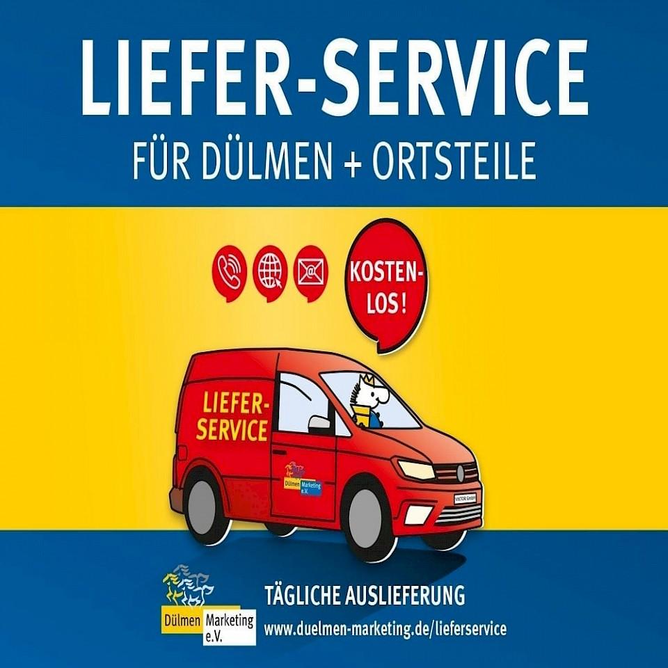 Lieferservice in Dülmen