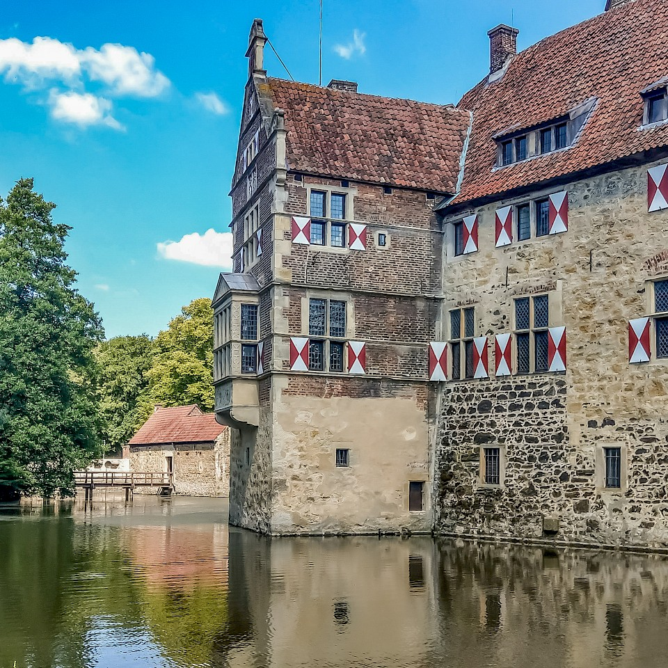 Burg Vischering - Burg- und Schloss-Tour