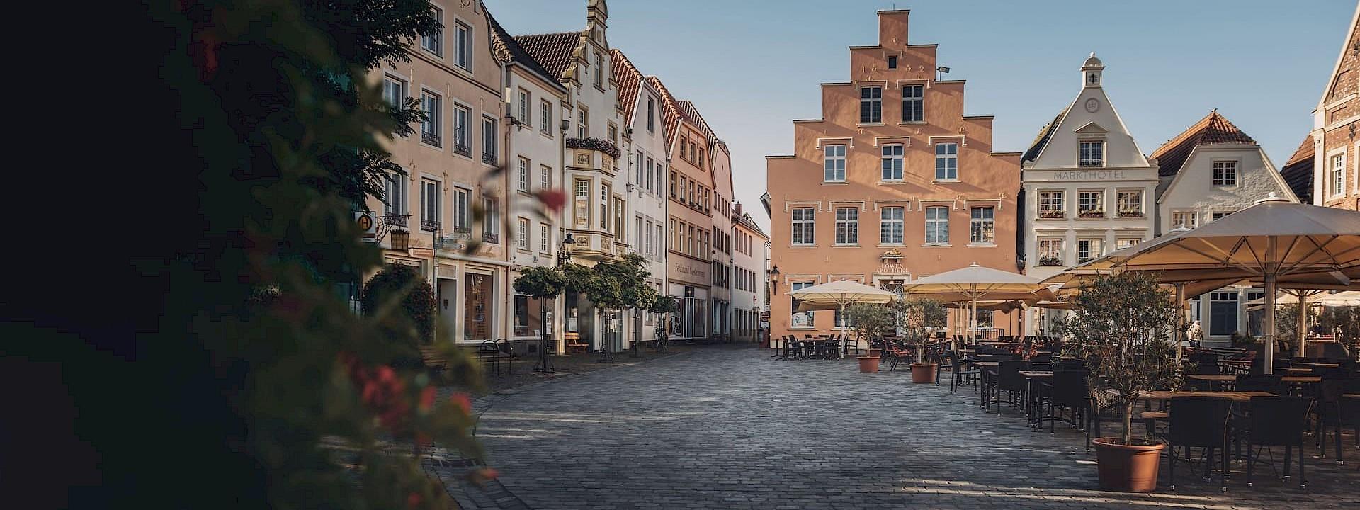 Mit dem Fahrrad zu den schönsten historischen Stadtkernen