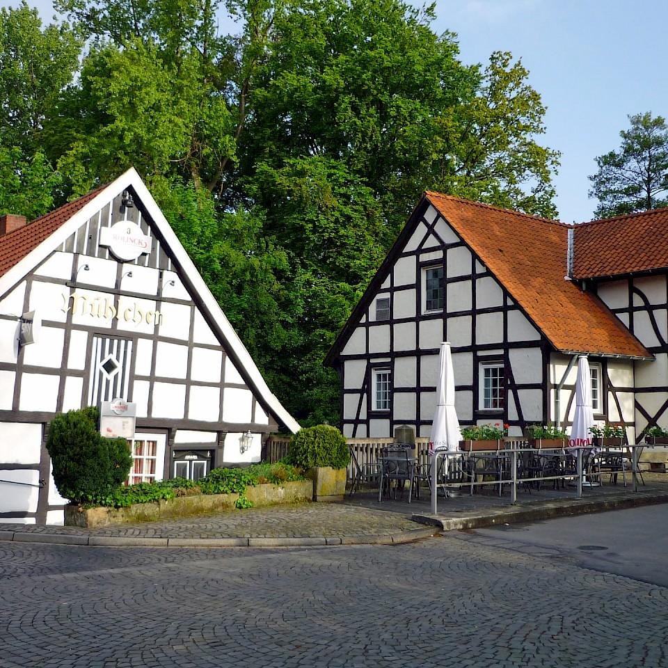 The old water mill in Ladbergen in Münsterland
