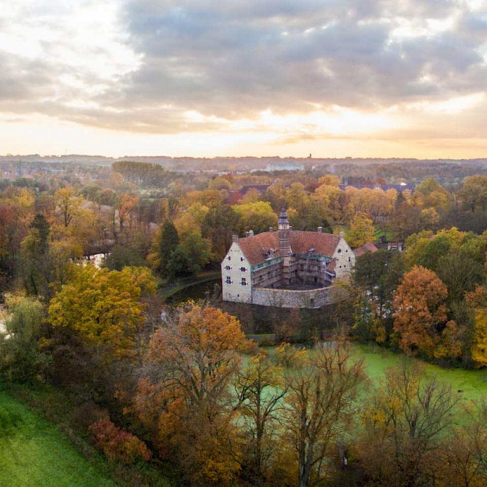 Lüdinghausen in het Münsterland