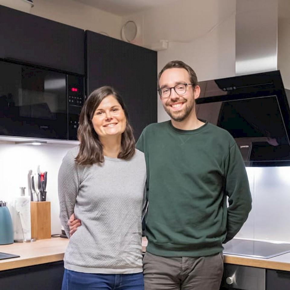 Katharina und Clemens Stemmer sind nach Havixbeck ins Münsterland gezogen.