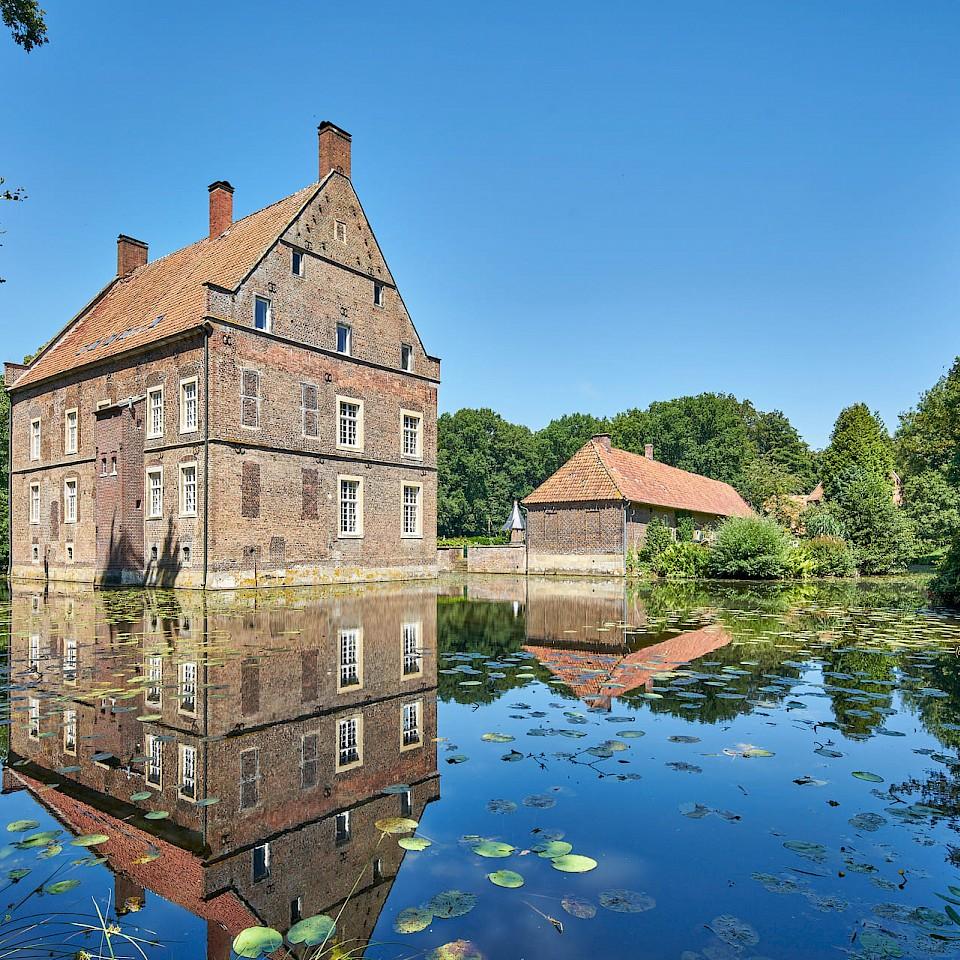 House Welbergen near Ochtrup in the Münsterland region