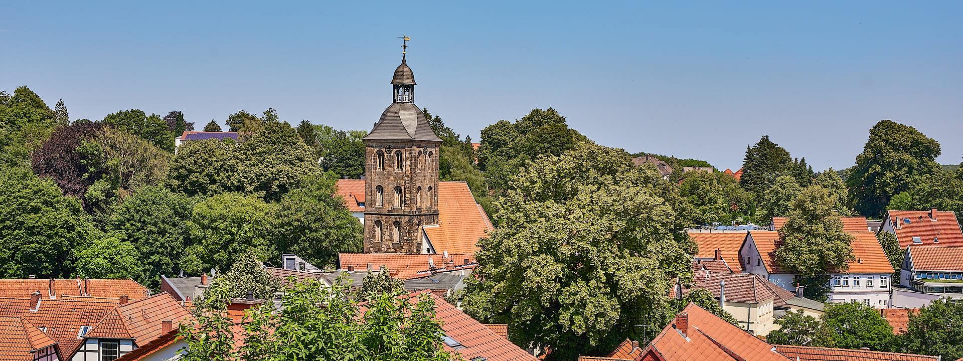Auf dem Balkon des Münsterlandes Tecklenburg