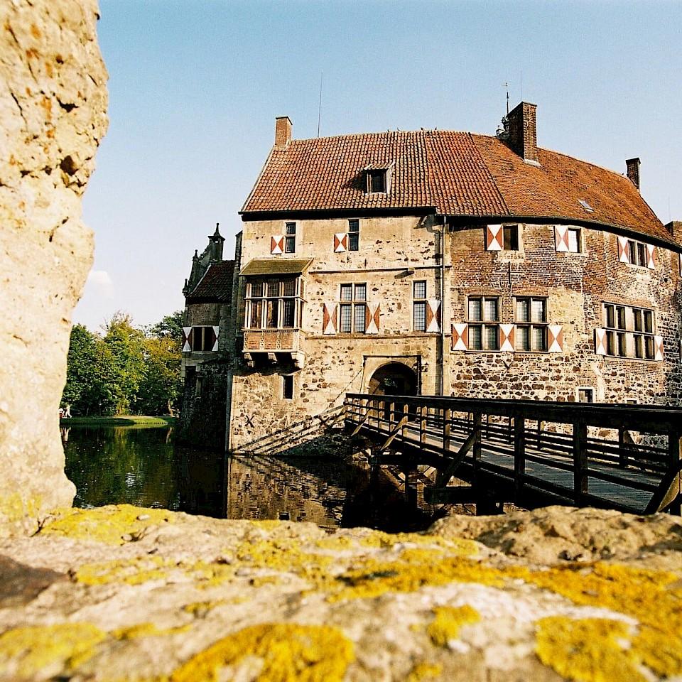 Eingang von Burg Vischering in Lüdinghausen