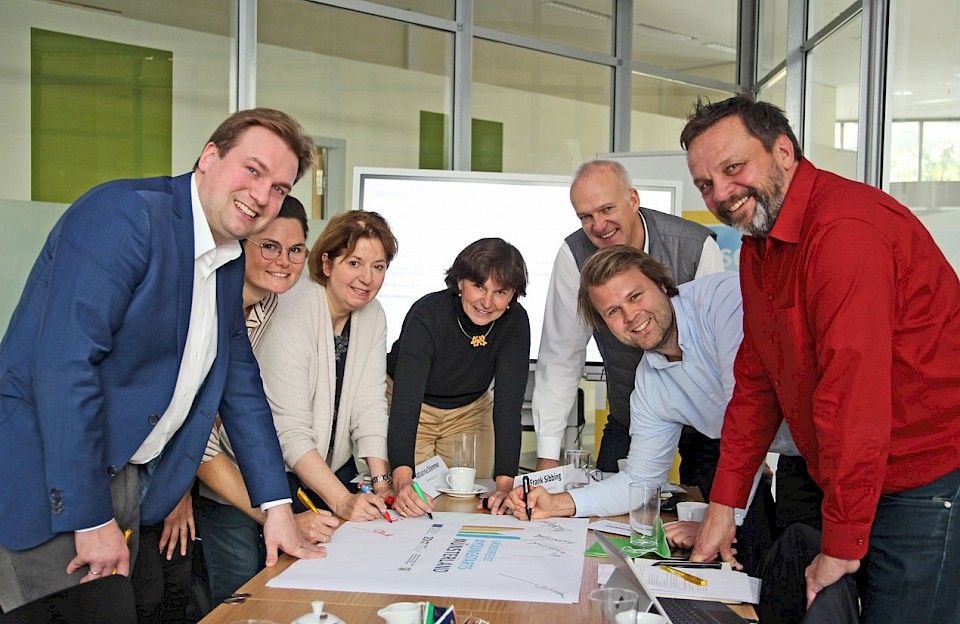 Projektteam #Youngstarts Münsterland