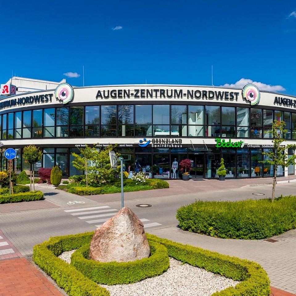 The Augen-Zentrum-Nordwest, based in Ahaus, is a major employer in the Münsterland region.