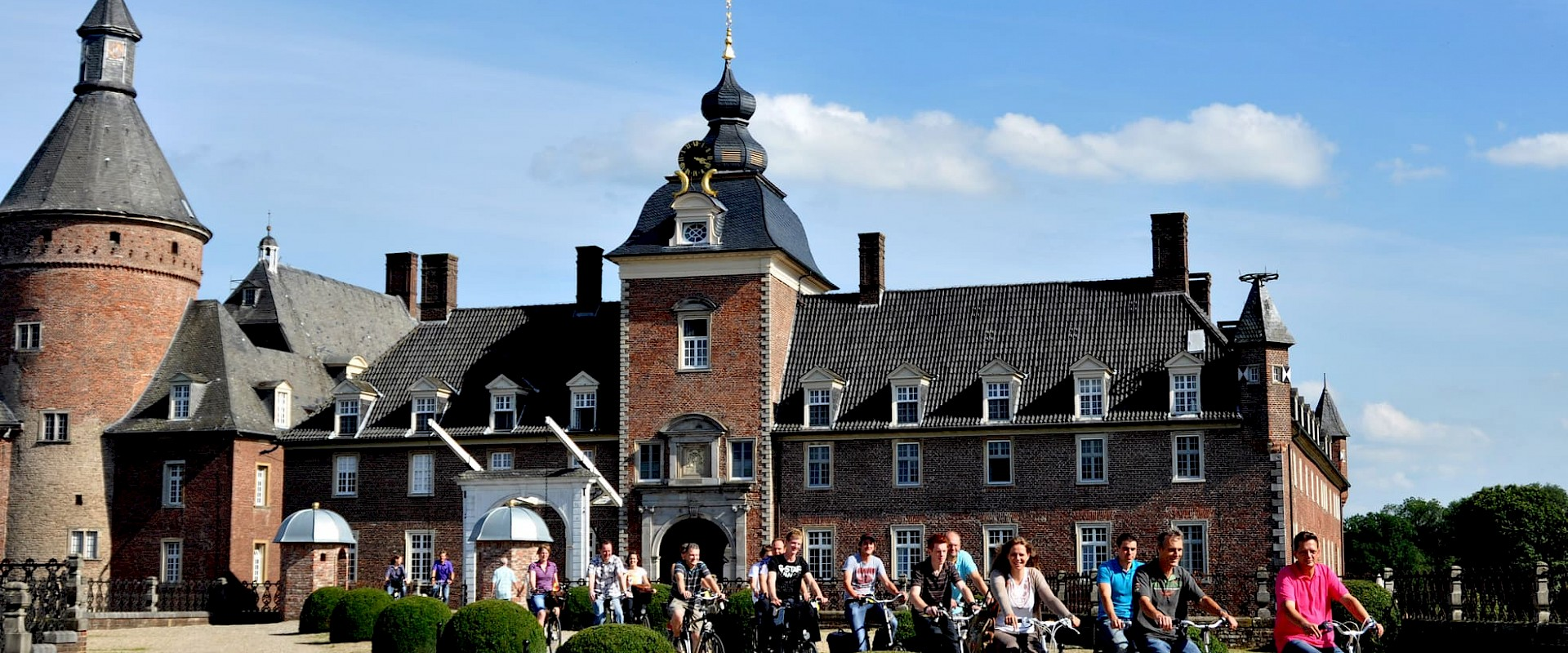 Radfahrer in Isselburg