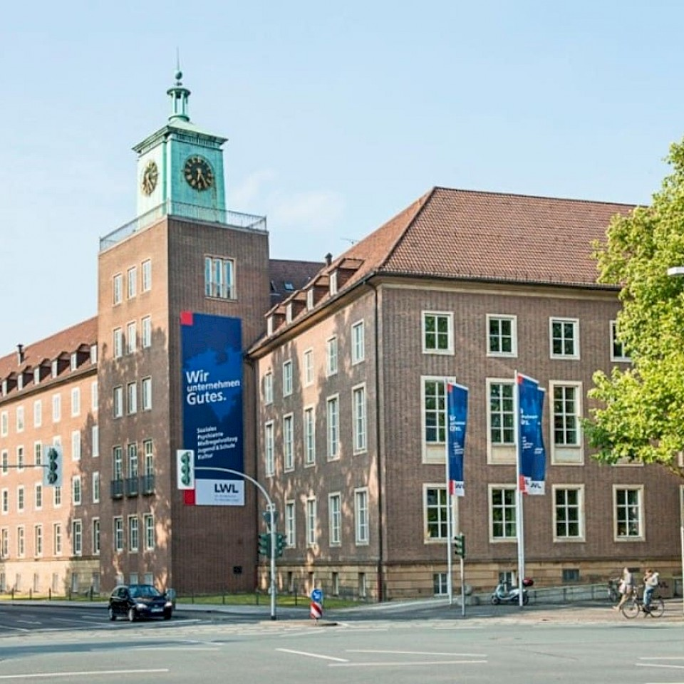 De LWL uit Münster is een belangrijke werkgever in het Münsterland.