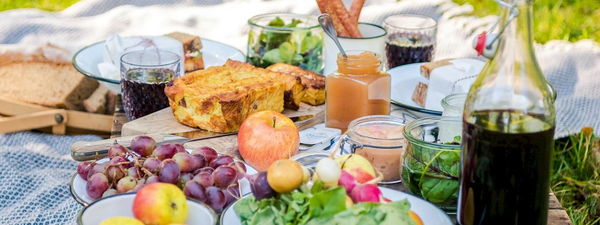 Nachhaltig geniessen! No-Waste-Picknick-Tipps