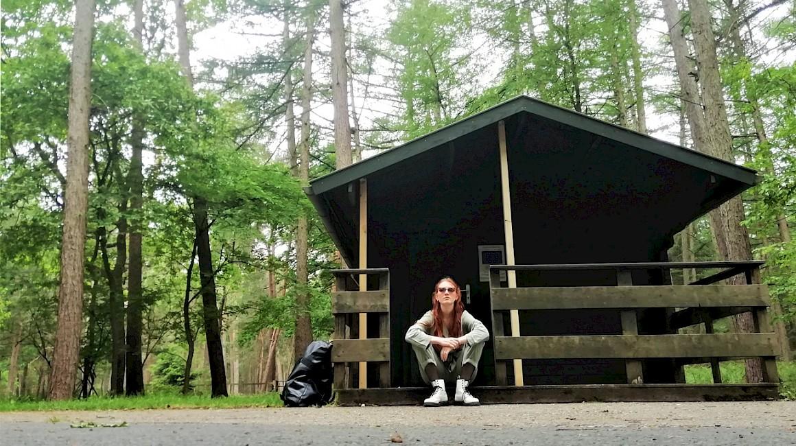 Charlotte Krafft im Dülmener Wildpark