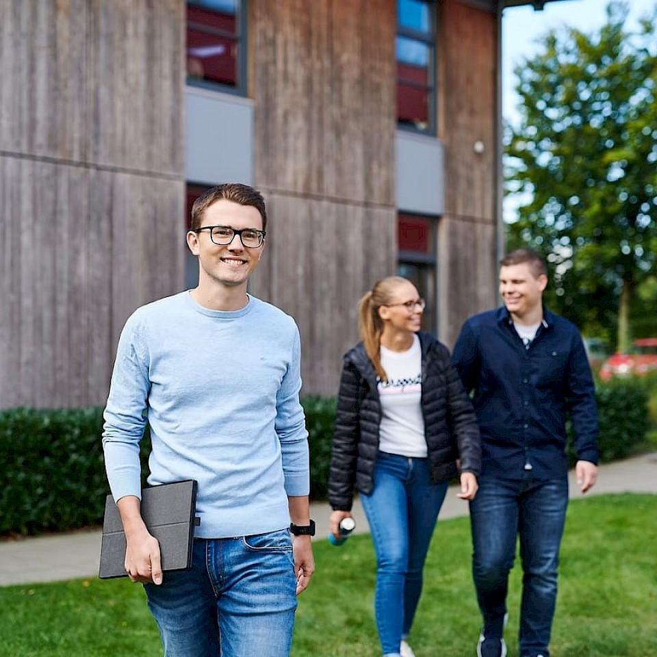 d.velop from Gescher is a major employer in the Münsterland region.