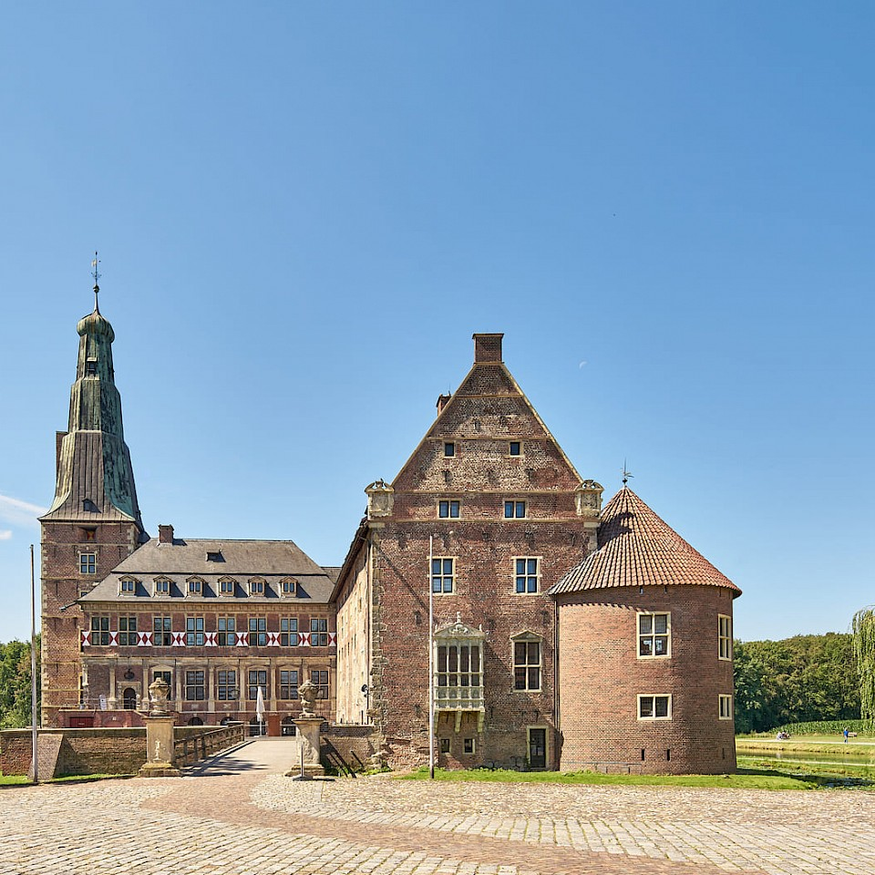 Raesfeld Castle in the Münsterland