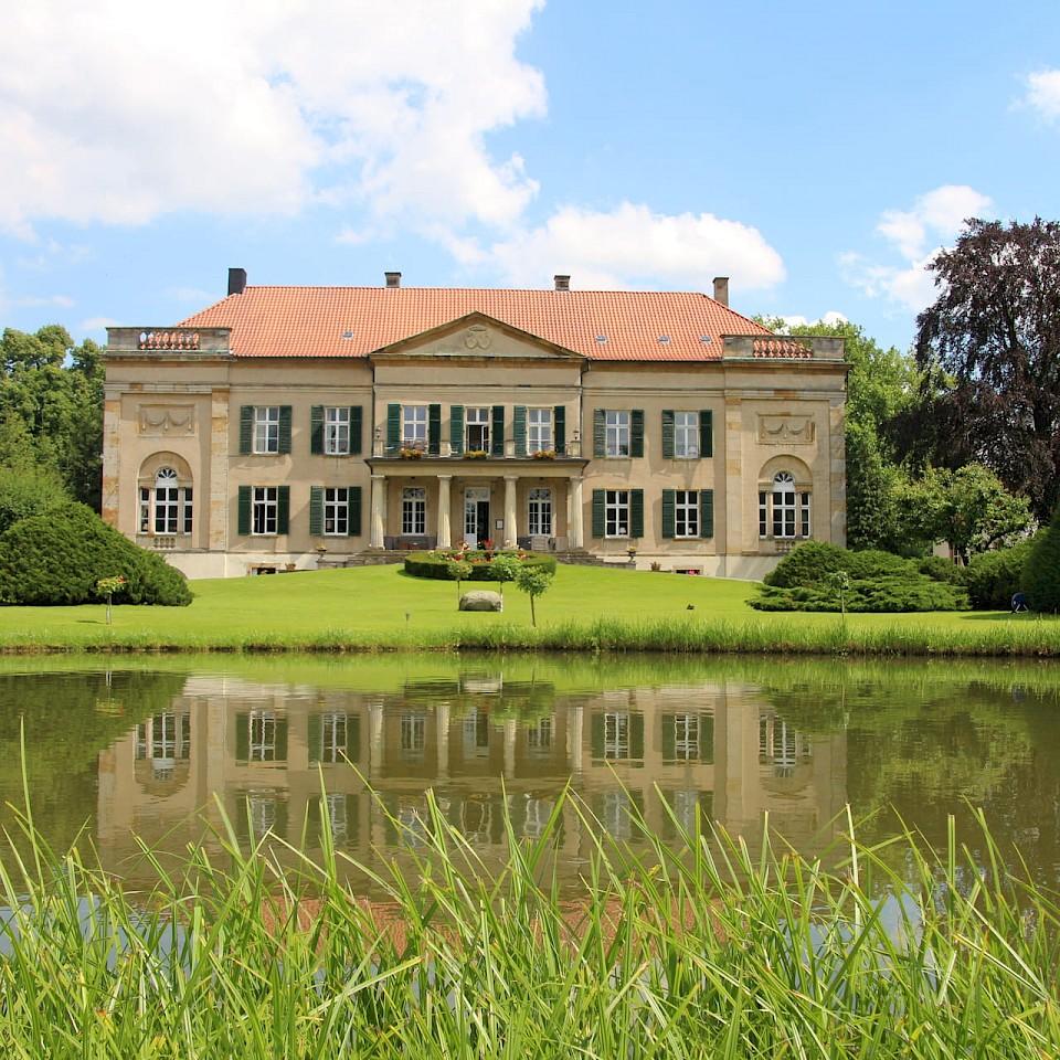 Harkotten Castle in Sassenberg in Münsterland