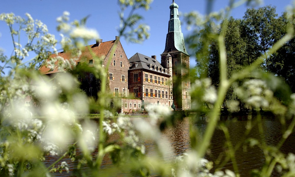 Schloss Raesfeld ist das Wahrzeichen von Raesfeld