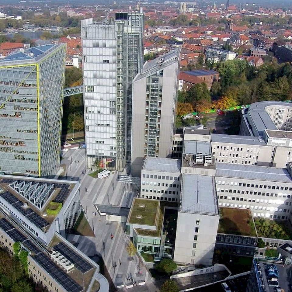 Working for LVM in Münster in the Münsterland region