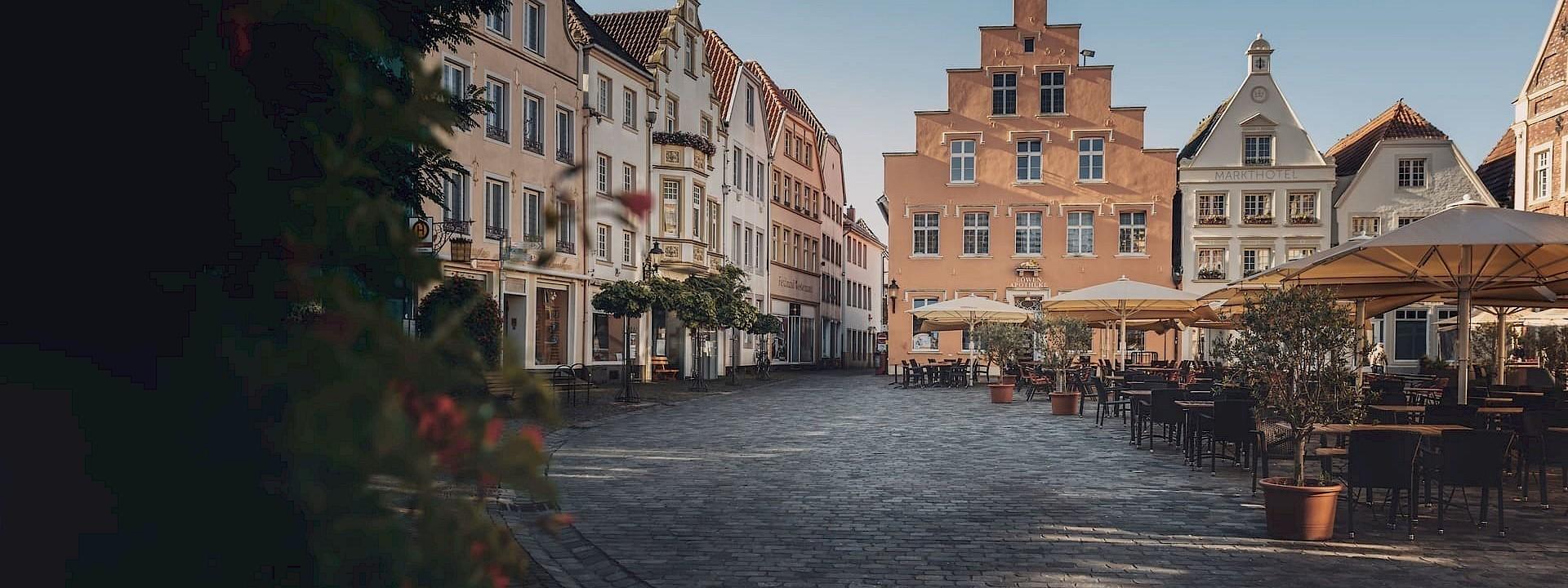 Im Dreiklang von Pferden, Altstadt und Natur Warendorf