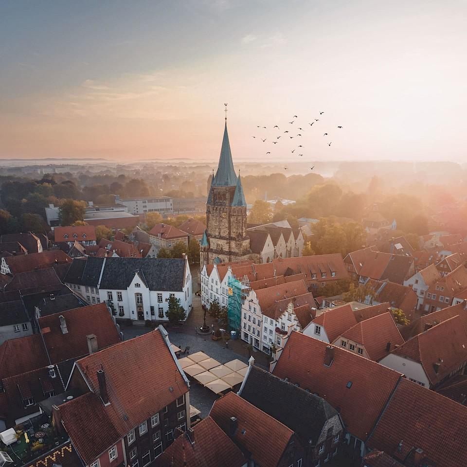 Warendorf in het Münsterland
