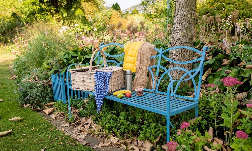 Picknicken im Herbst