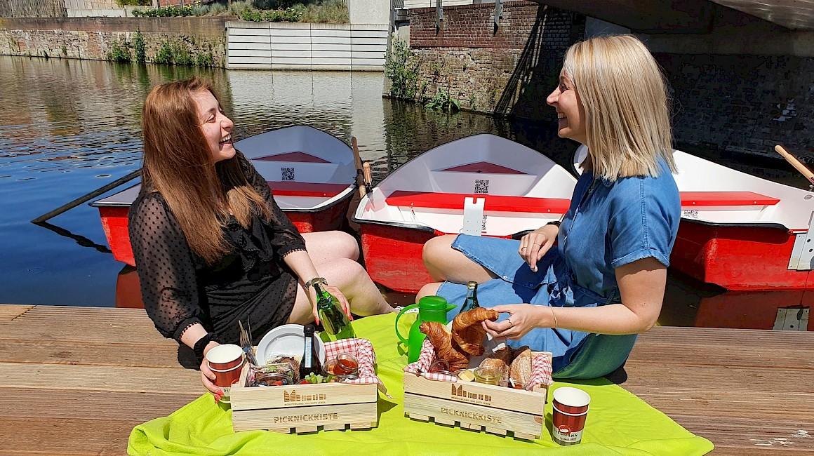 Picknick an den Grachten