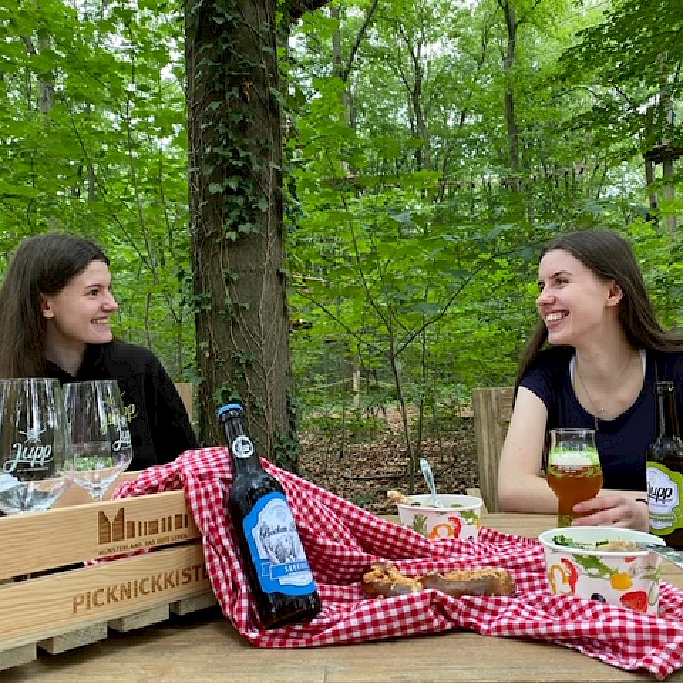 Picnic Jupp the adventure beer garden