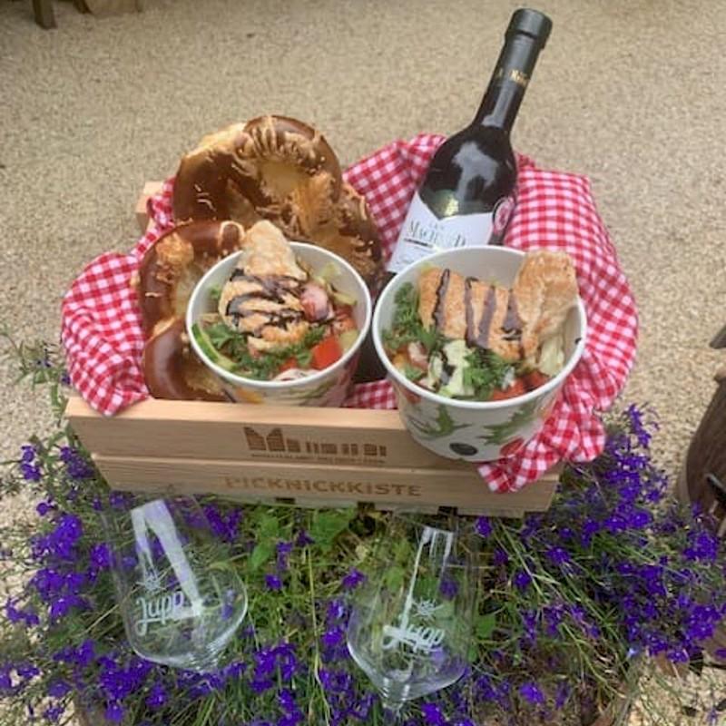 Gourmet-Picknick<br>© Jupp der Erlebnisbiergarten