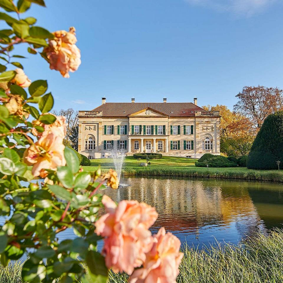 Schloss Harkotten an der 100 Schlösser Route