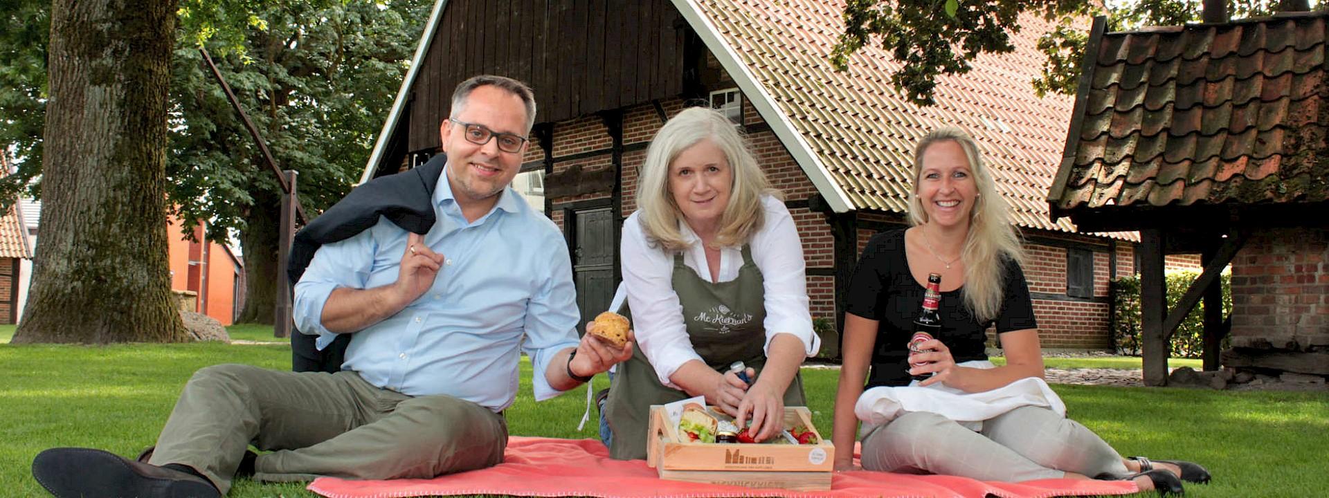 Picknickkörbe vom McKiernan's Café Irisches Picknick in Gescher