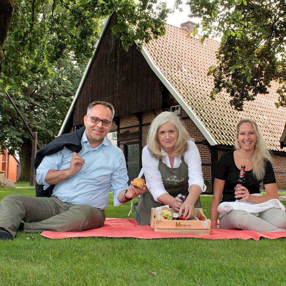 Irisches Picknick in Gescher