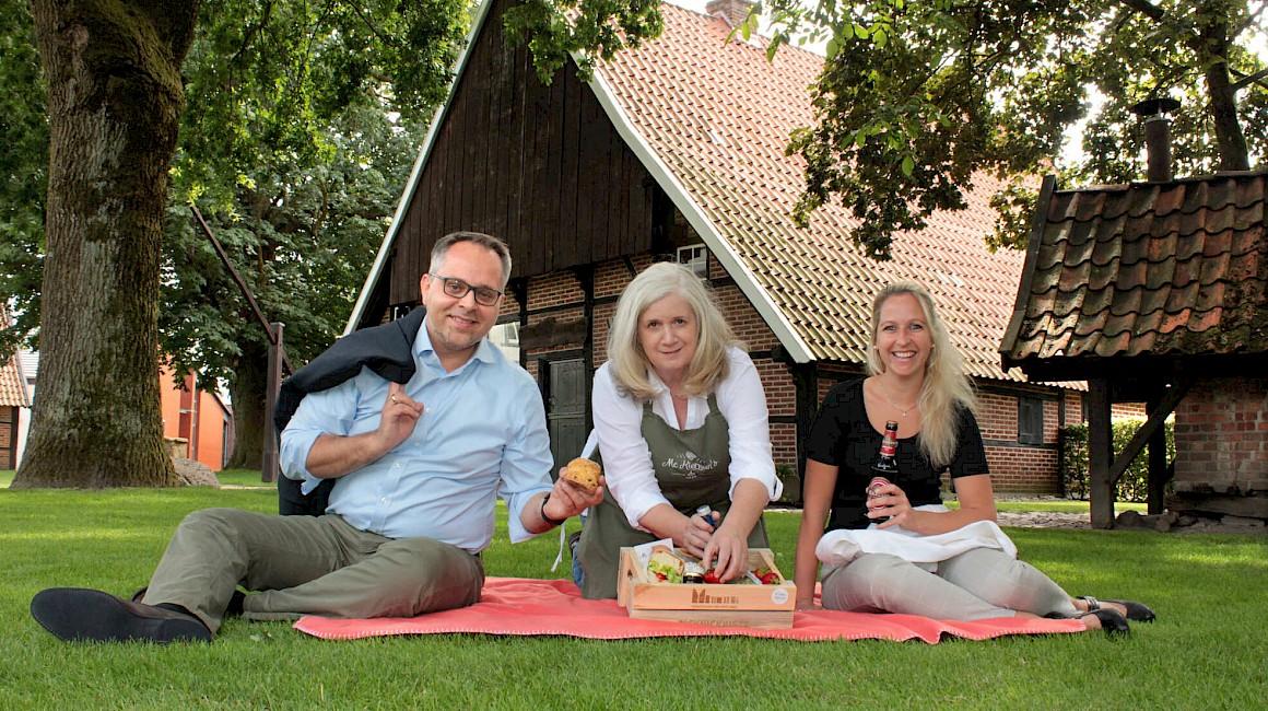 Picknick im Musuemshof